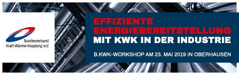 Banner Effiziente Energiebereitstellung 23.05.2019 in Oberhausen