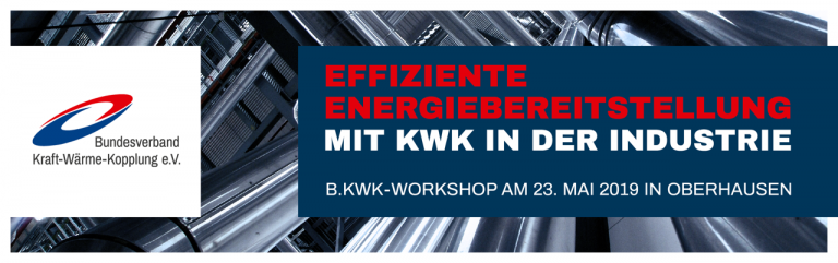 BKWK-Veranstaltung Effiziente KWK in der Industrie