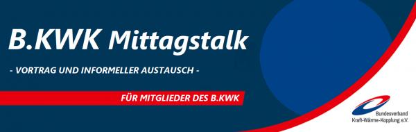 B.KWK Mittagstalk Banner Mitgliederveranstaltung