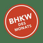 BHKW des Monats Button