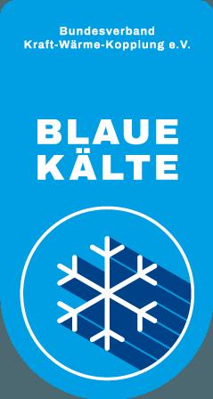 Blaue Kälte: B.KWK-Zertifikat für effiziente Kälte aus KWKK-Anlagen