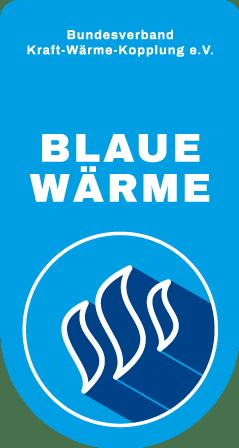 Blaue Wärme: Zertifikat des B.KWK für effiziente KWK-Wärme